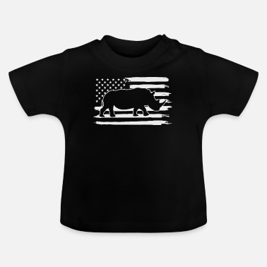 Large rhino - Baby T-Shirt