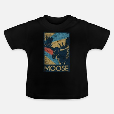 Animal Welfare Moose gift - Baby T-Shirt