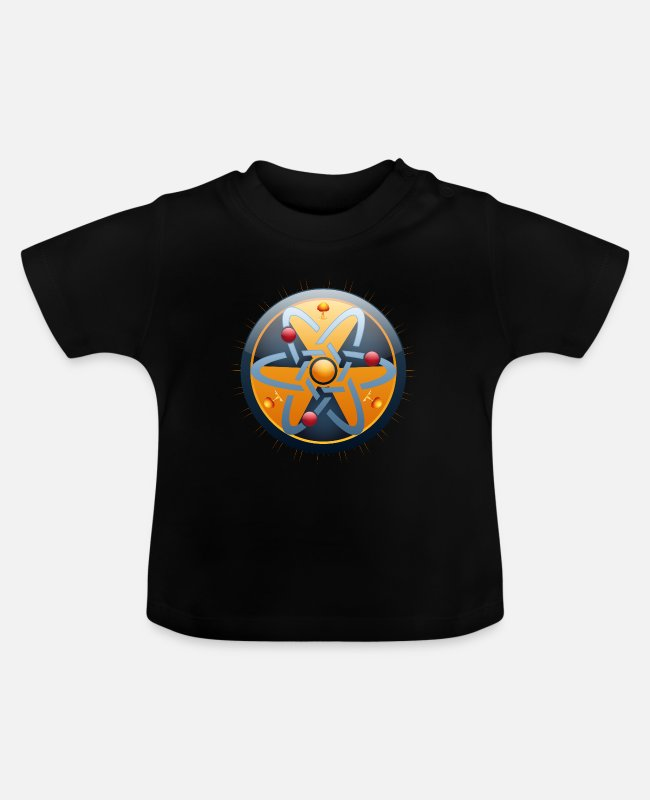 Atomic Bomb Baby T-Shirts - Nuclear Power - Atoms - Atomic Bomb - Atomic Energy - Baby T-Shirt black