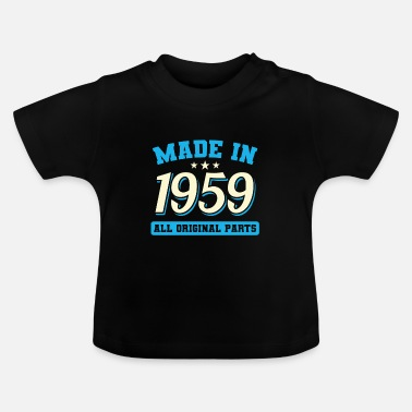 Year Of Birth 1959 year of birth - Baby T-Shirt