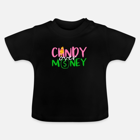 Gift Idea Baby Clothes - Sweets - Baby T-Shirt black