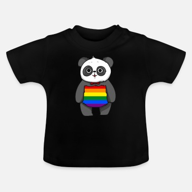 Gay Pride LGBT Panda Gay Pride Shirt Gave Gay - Baby T-shirt