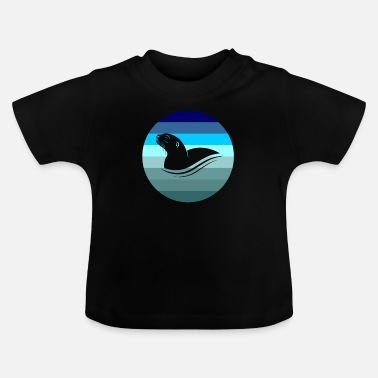 Tiere Otter Tier - Baby T-Shirt