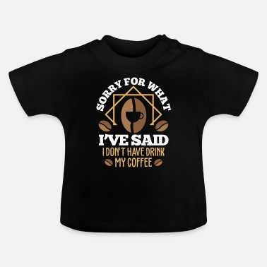 Coffee Bean Coffee beans coffee beans gift - Baby T-Shirt