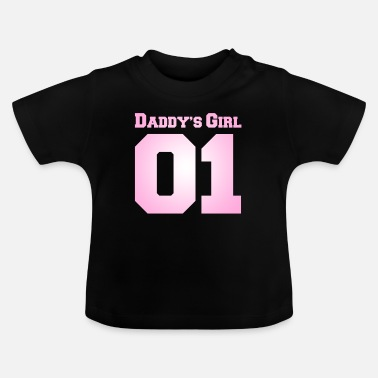 Daddies daddy's girl number 1 - Baby T-Shirt