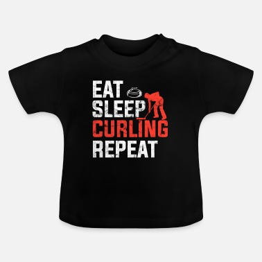Competition Curling competition - Baby T-Shirt