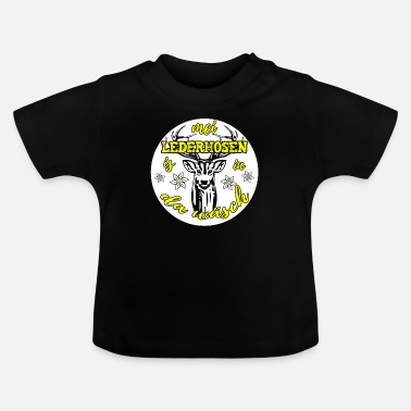 Lingerie Mei Lederhosen is in there lingerie - Baby T-Shirt