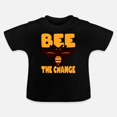 Children Be the Change Save the world - Baby T-Shirt