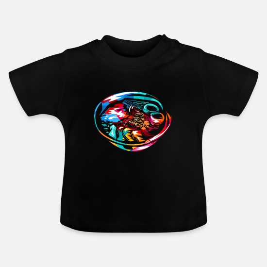 Mad Babytøj - Ramen - Baby T-shirt sort