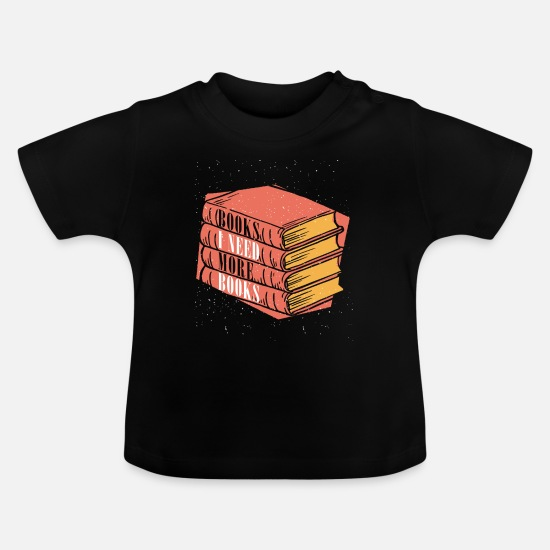 Murder Mystery Baby Clothes - Read - Baby T-Shirt black