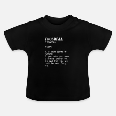 Sweden Table football gift - Baby T-Shirt