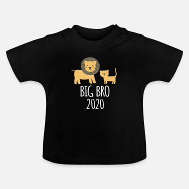 Søskende Brother 2020 søskende løve gave - Baby T-shirt
