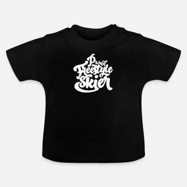Freestyle Freestyle skiing freestylers - Baby T-Shirt