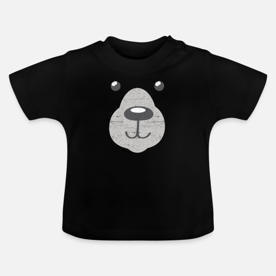 Lover Baby Clothes - Polar Bear Polar Bear - Baby T-Shirt black