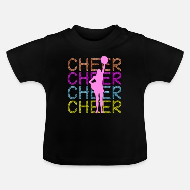 Cheerful Cheerleading - Cheer Cheer Cheer - Baby T-Shirt