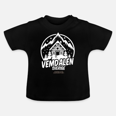 Ski Resort Vemdalen Sverige Ski Resort - Baby T-Shirt