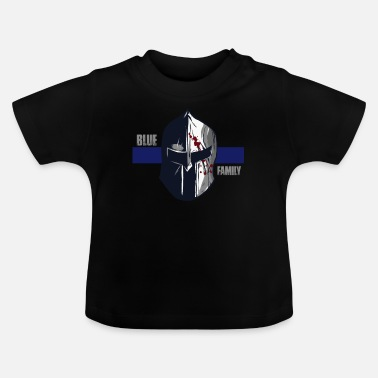 Blue Family Police Gift Thin Blue Line Police - Baby T-Shirt