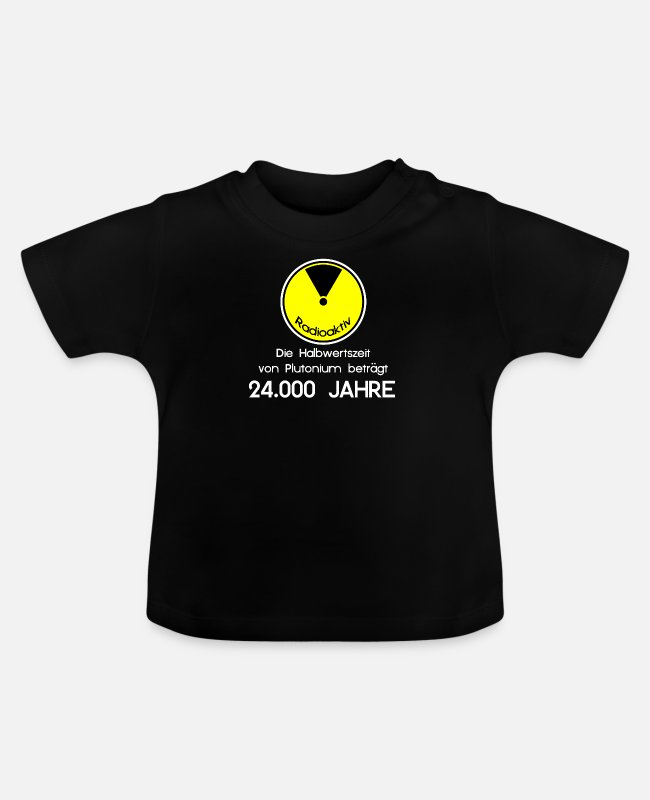 Animal Welfare Baby T-Shirts - planetcontest | RADIOACTIVE | ATOM WASTE ECO ENVIRONMENT - Baby T-Shirt black
