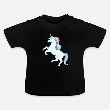 Fairy Tail Unicorn Horse Fairy Tail Unicorns - Baby T-Shirt