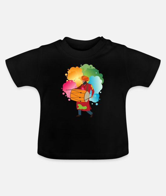 Music Baby Clothes - Music cultures - Baby T-Shirt black