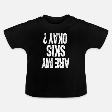 Glass Underwear ski - Baby T-Shirt