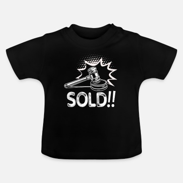 Auctions Auctioneer Auctioneer Funny - Baby T-Shirt