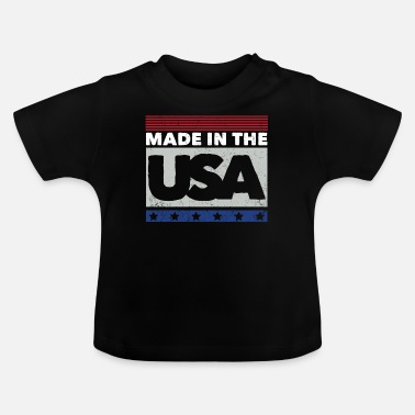 Usa USA - Made in USA - Baby T-Shirt