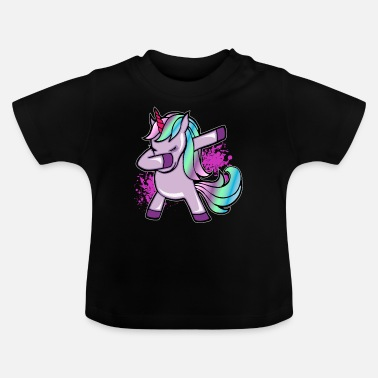 Unicorn Unicorn dab gift for women, men and kids - Baby T-Shirt