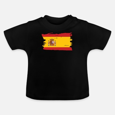 Spain spanish flag gift - Baby T-Shirt