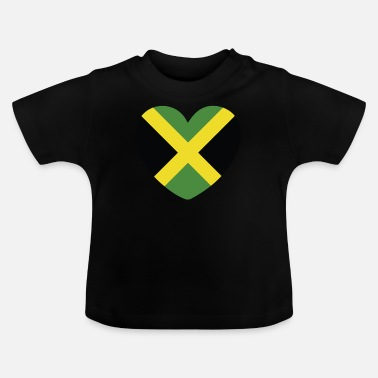 Jamaican Creole COOL JAMAICA FLAG DESIGN - Baby T-Shirt