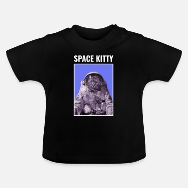 Space Kitty Astronaut Cat - Baby T-shirt