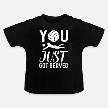 Set Volleyball Sport Beachvolleyball Geschenk - Baby T-Shirt
