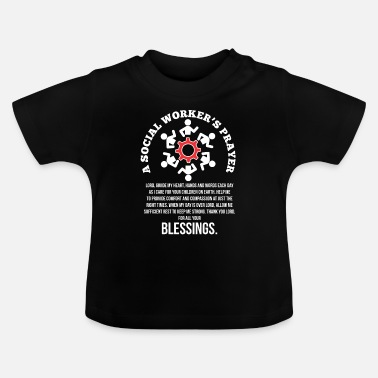 Social Profession Social worker prayer social profession employee - Baby T-Shirt