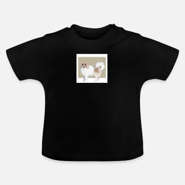 Dog Cute Dog Dogs Doggy Puppy Photography Painting - Baby T-Shirt
