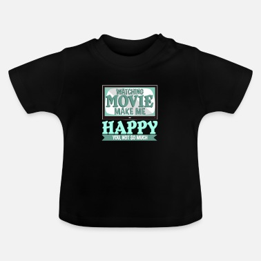 Television Bioscoop films televisie Hollywood cadeau - Baby T-shirt