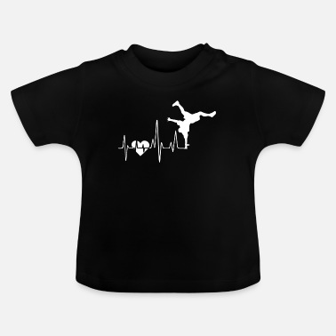 Breakdance Breakdance Breakdance Heartbeat - Baby T-shirt