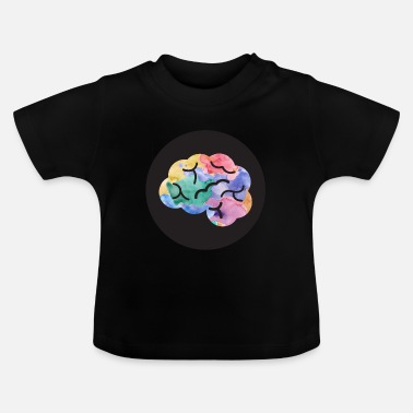 Chalk Psychologist with a brain - Baby T-Shirt