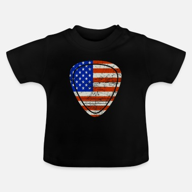 Guitarist Guitar usa music - Baby T-Shirt