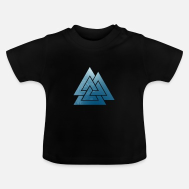 Skjold Ice viking rune - Baby T-shirt