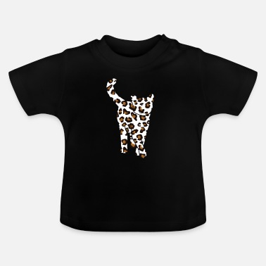 House Tiger House tiger cat leopard skin - Baby T-Shirt