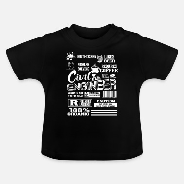 Civil Engineering Job Civil Engineer Civil Engineer Job - Baby T-Shirt
