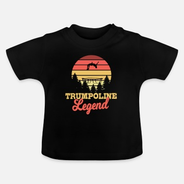 Hop Trampolin legende gave - Baby T-shirt