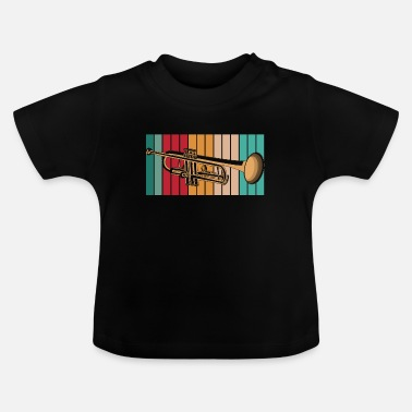 Orchestra Retro trumpet musician - Baby T-Shirt