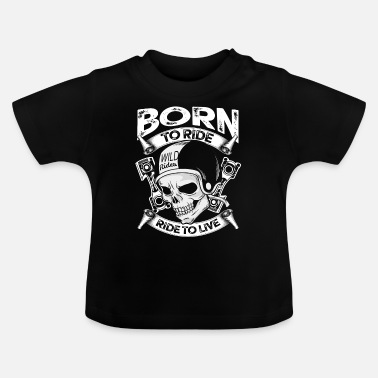 Mc Motorcykel Motorcykel Stunt Bike MC Kutte Superbike - Baby T-shirt