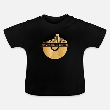 Clubbers CLUBBER Hamburg CLUBBING DIGGA - Baby T-Shirt