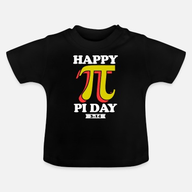 Pi Pi Day Pun Science Grappig TShirt - Baby T-shirt