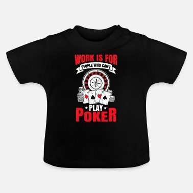 Vegas Poker Gift Poker Chips Kaarten Casino All in - Baby T-shirt