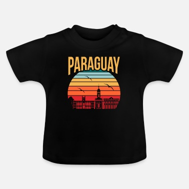 Amerika Paraguay America Rejse gave idé - Baby T-shirt