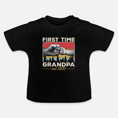 Easter First time Grandpa est 2020 Soon to be Dad Husband - Baby T-Shirt