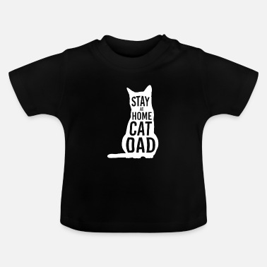 Stay at Home Cat Dad Shirt for Cat Dads - Baby T-Shirt